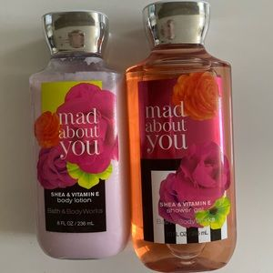 Bath and body works Lotion and body wash